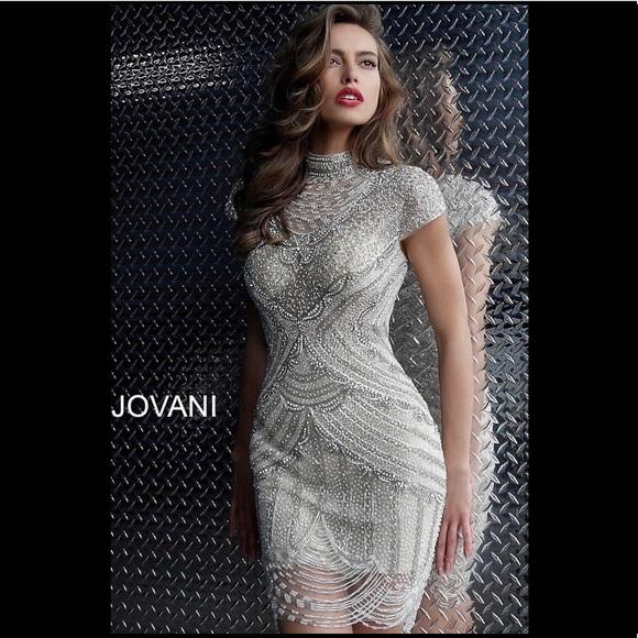 a5edcdb7dd8 JOVANI -60933 BEADED COCKTAIL DRESS